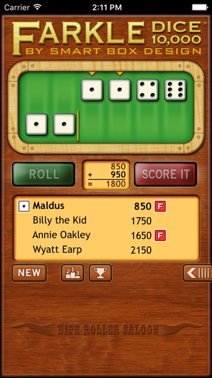 Farkle Dice - Free screenshot-2