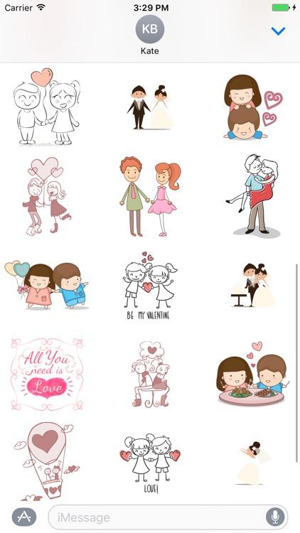 Happy Valentine Day -Fc Sticker