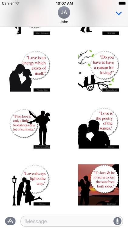ShadowNotes: Love Quotes screenshot-4
