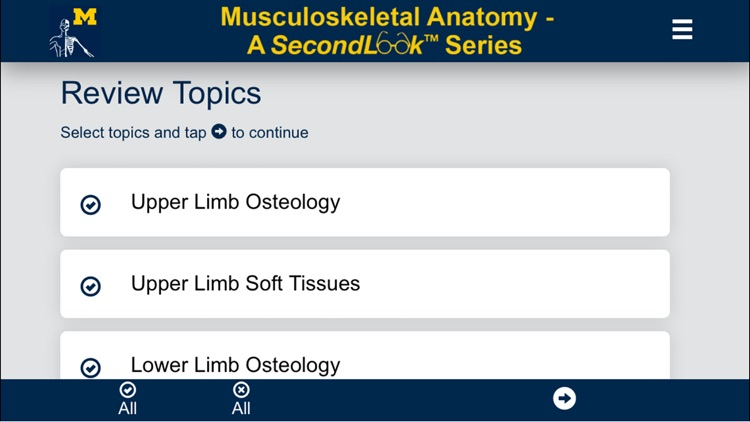 MSK Anatomy - SecondLook
