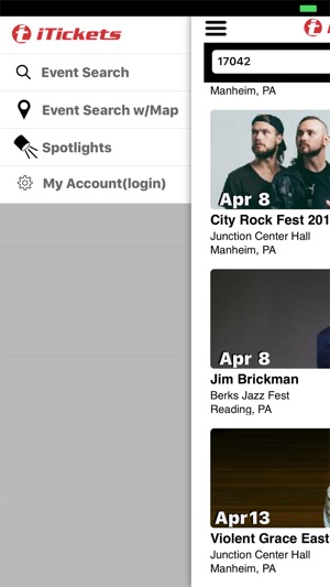 iTickets on the App Store