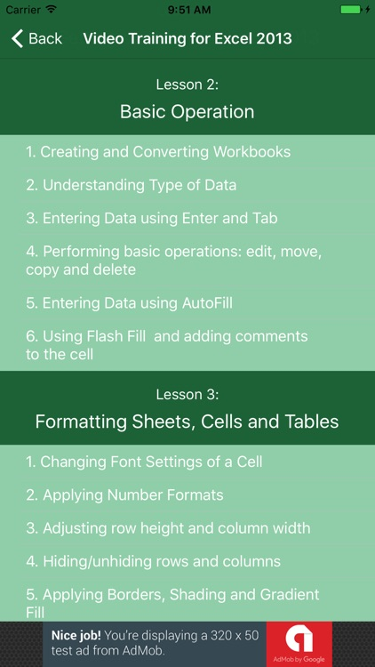 Video Training for Excel 2013