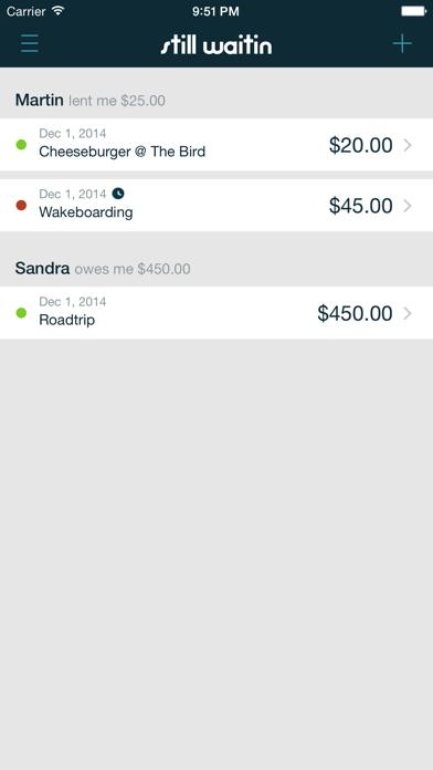 Iou Debt Manager Still Waitin review screenshots