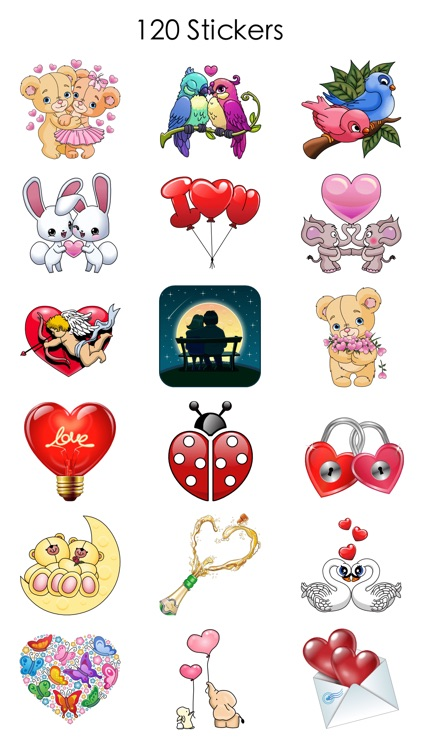 Love Stickers for Valentine's Day screenshot-3