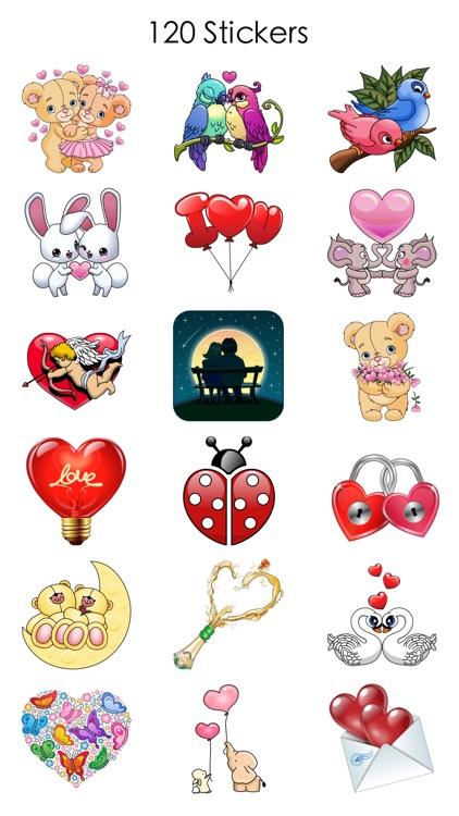 Valentine's Love Stickers screenshot-3