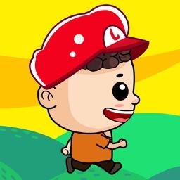 乐乐超级玛丽采蘑菇大冒险