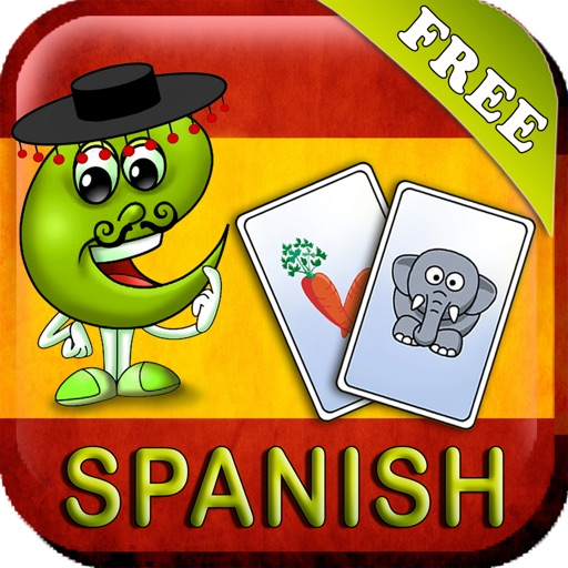 Spanish Baby Flash Cards: Toddler flashcards(free) iOS App