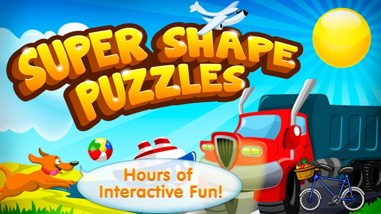 Super Shape Puzzles