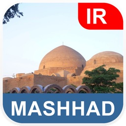 Mashhad, Iran Offline Map - PLACE STARS