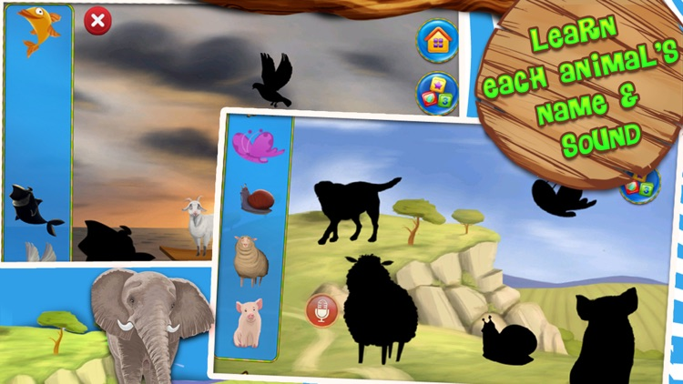 Animals Zoo - Interactive Flash Cards for Kids screenshot-4