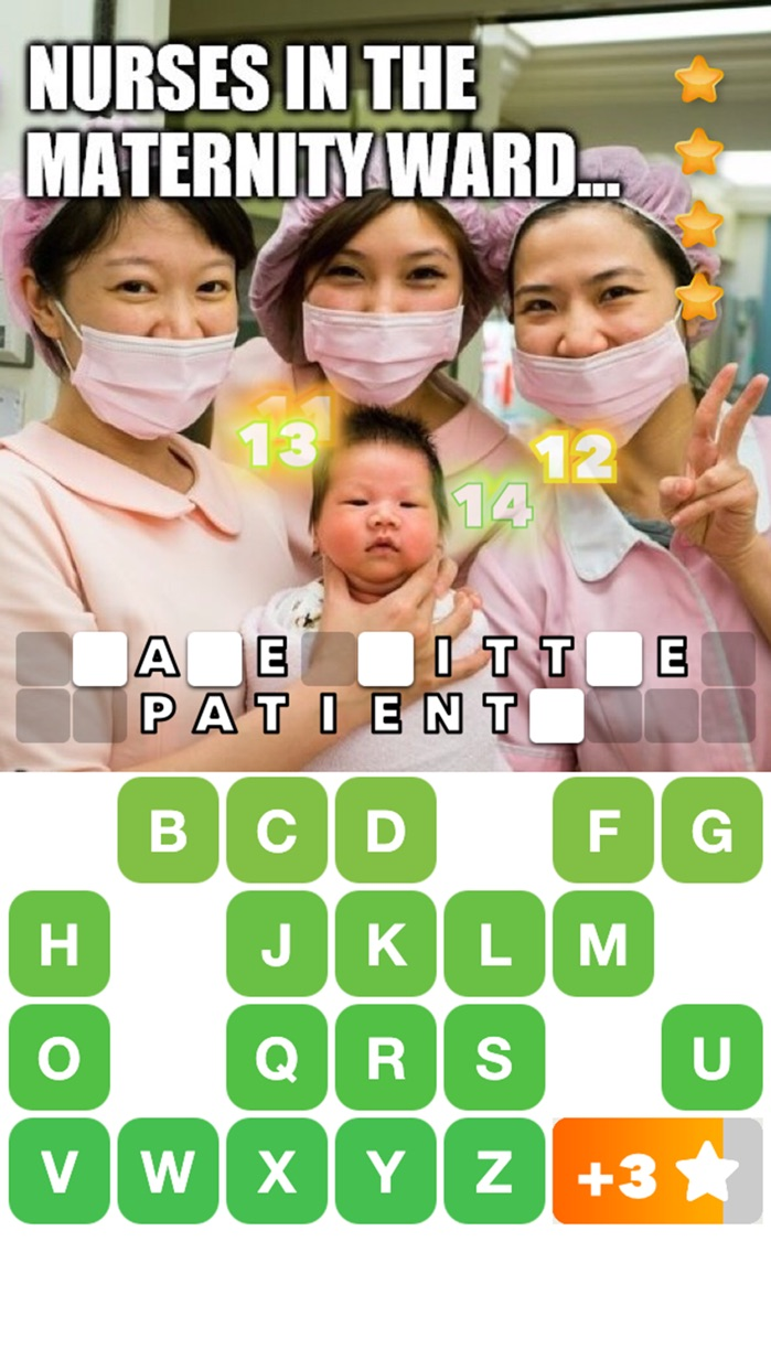 Captionable: Turn Your Photos into Word Puzzles Screenshot