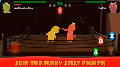 Superhero Wrestling: Jelly Match screenshot one