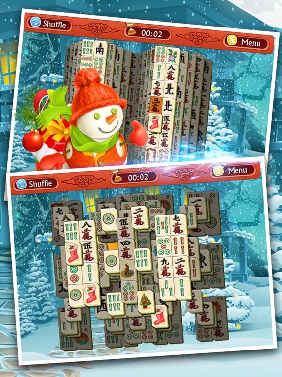 Игра Рождественский Праздник Маджонг - Бесплатные Игры