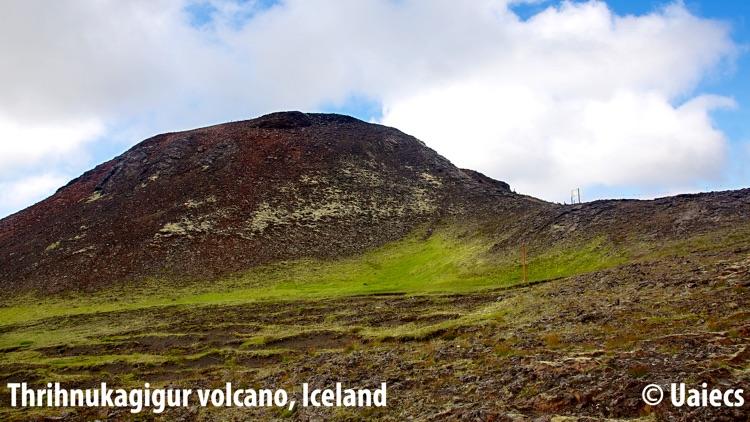 VR Inside a Volcano Island Virtual Reality 360