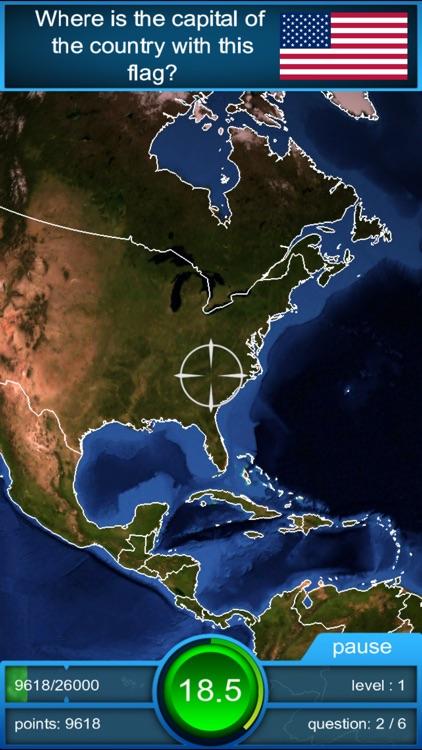Worldquiz - the 3D Geography Challenge
