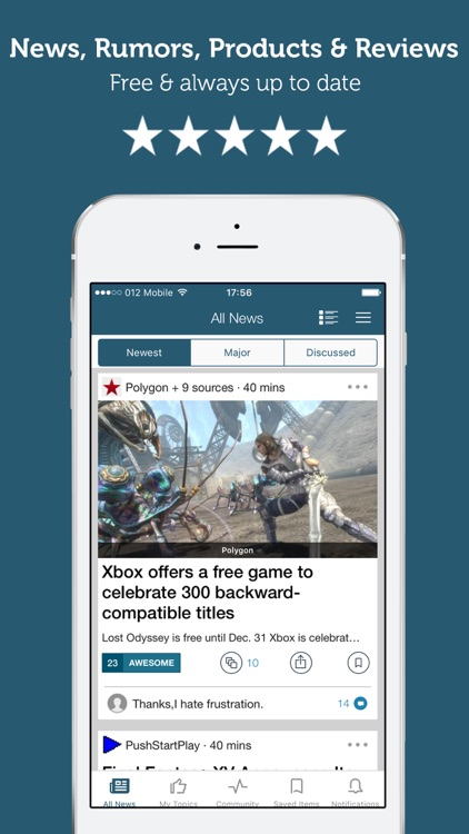 Newsfusion - Xbox and Gaming news