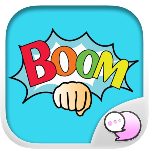 BOOM Stickers for iMessage