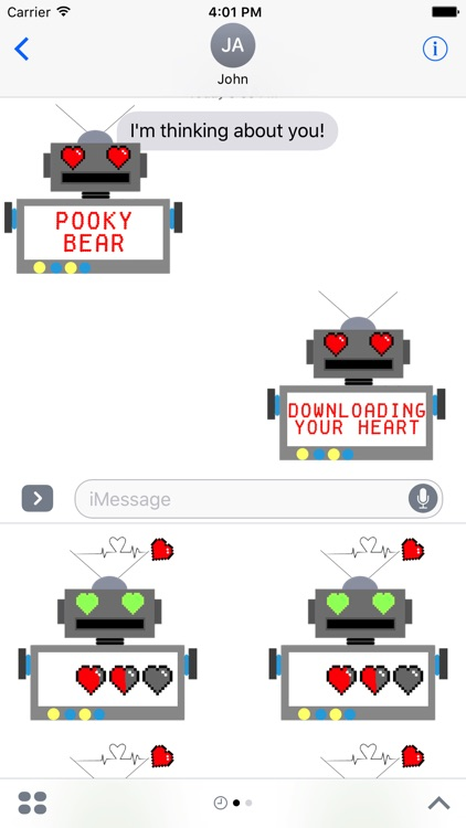 LoveBot: Animated Stickers screenshot-3