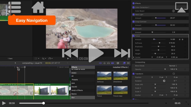 FCPX Compositing and Visual FX screenshot-3
