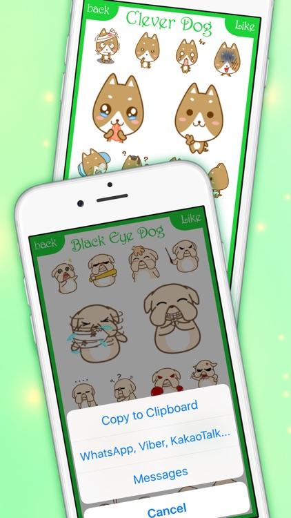 DogsMoji - Animated Dogs for iMessage & WhatsApp screenshot-4