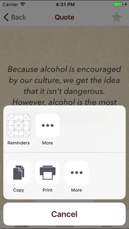 Stop Drinking Quotes screenshot-2