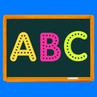 escritura mago letras y reloj A B C para Niños icon