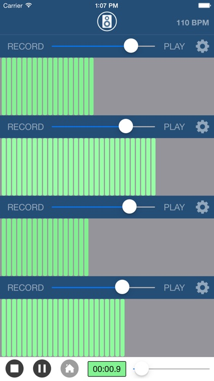 Multi Track Song Recorder Pro screenshot-2