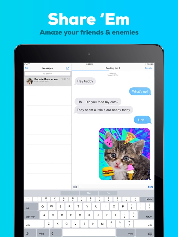 GIPHY Cam for iMessage. The GIF Creator Screenshot