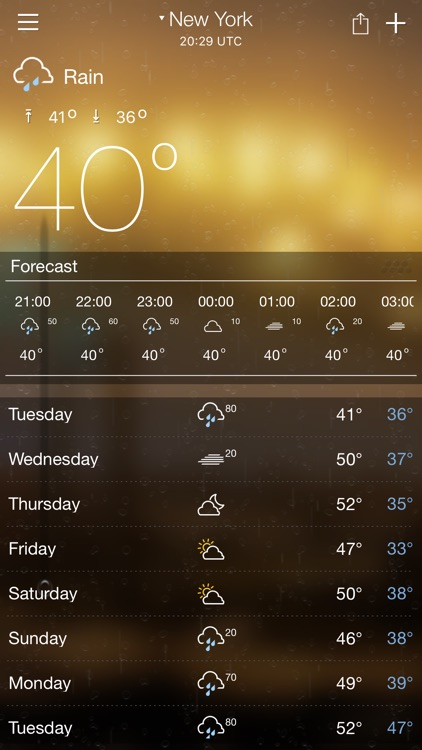 Weather forecast - Weather & radar screenshot-0