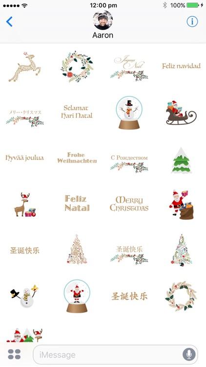 Merry Christmas Around The World screenshot-4