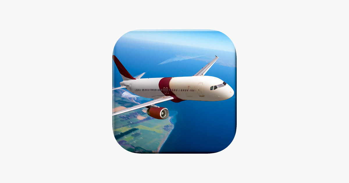 Real Airplane Pilot Flight Simulator Game for free on the
