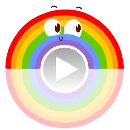 Animated Rainbow Stickers
