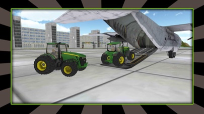 Piloto de aviones de carga de tractores 3DCaptura de pantalla de3