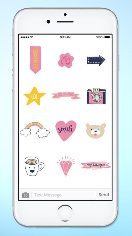 Hello I Love You Sticker Pack screenshot-4