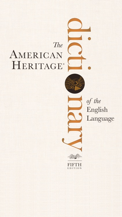 American Heritage® Dictionary — 5th Edition