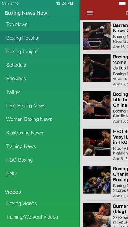Boxing News Now - Schedules & Latest Results screenshot-4