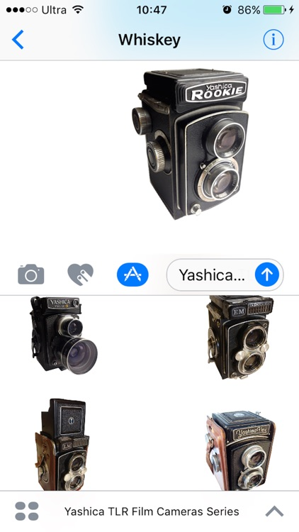 Stickers Yashica TLR Film Cameras Series screenshot-3