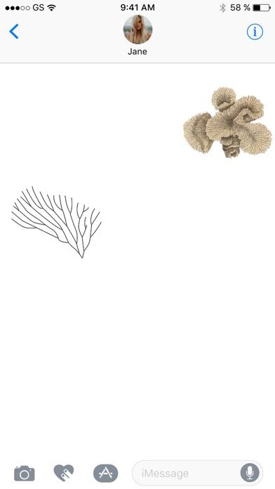 Korallen-StickerpackScreenshot von 3