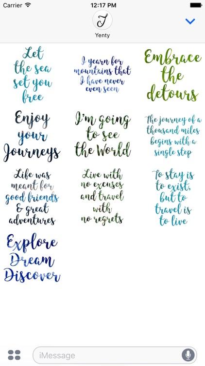 Wanderlust Traveller Messages screenshot-4
