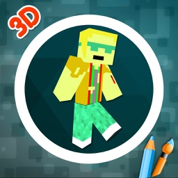 Custom 3D Boys Skin Editor for Minecraft PE+PC
