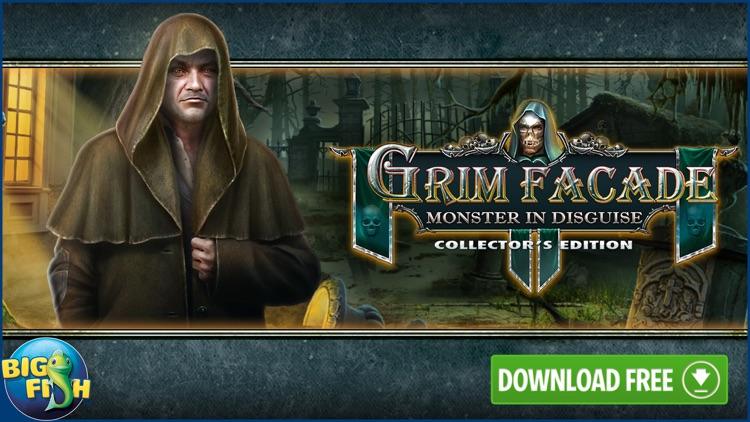 Grim Facade: Monster in Disguise - Hidden Objects screenshot-4
