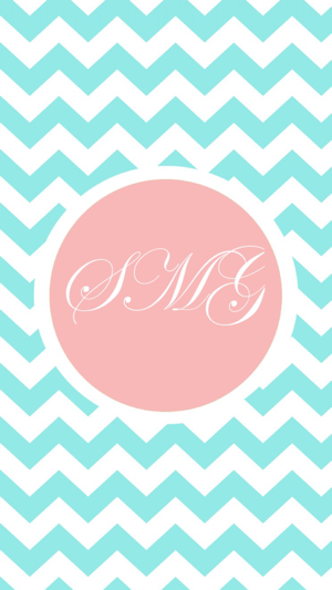 Image of: Cover Screenshots Wallpaper Cave Girly Monogram Wallpapers Cute Colorful Themes On The App Store