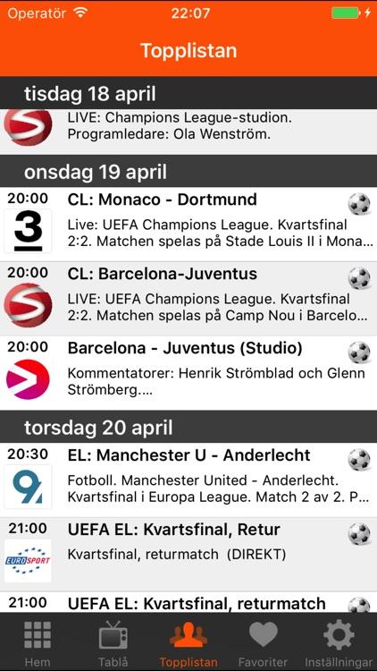 Sport på TV screenshot-3