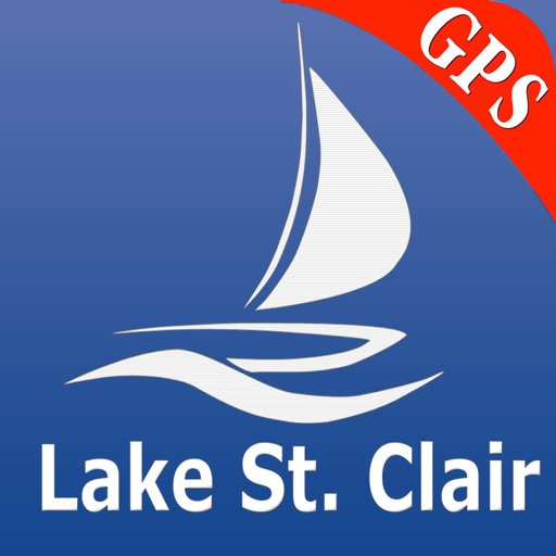 Lake St. Clair GPS Nautical charts