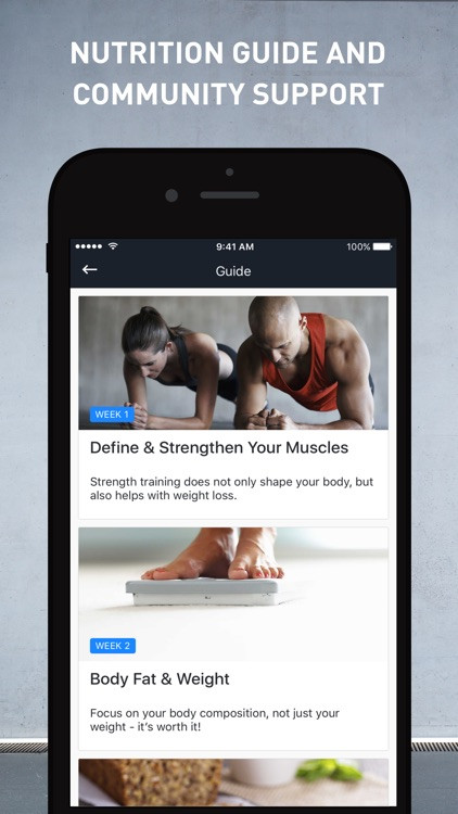 Runtastic Results Home Workout screenshot-3