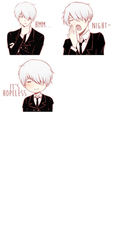 Cute Butler Stickers screenshot-4