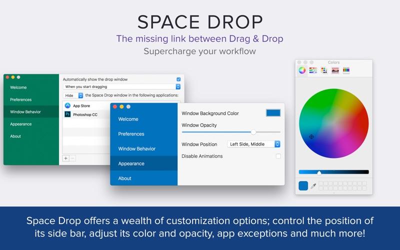 Space Drop: Better Drag & Drop Screenshot 03 9nlv2mn