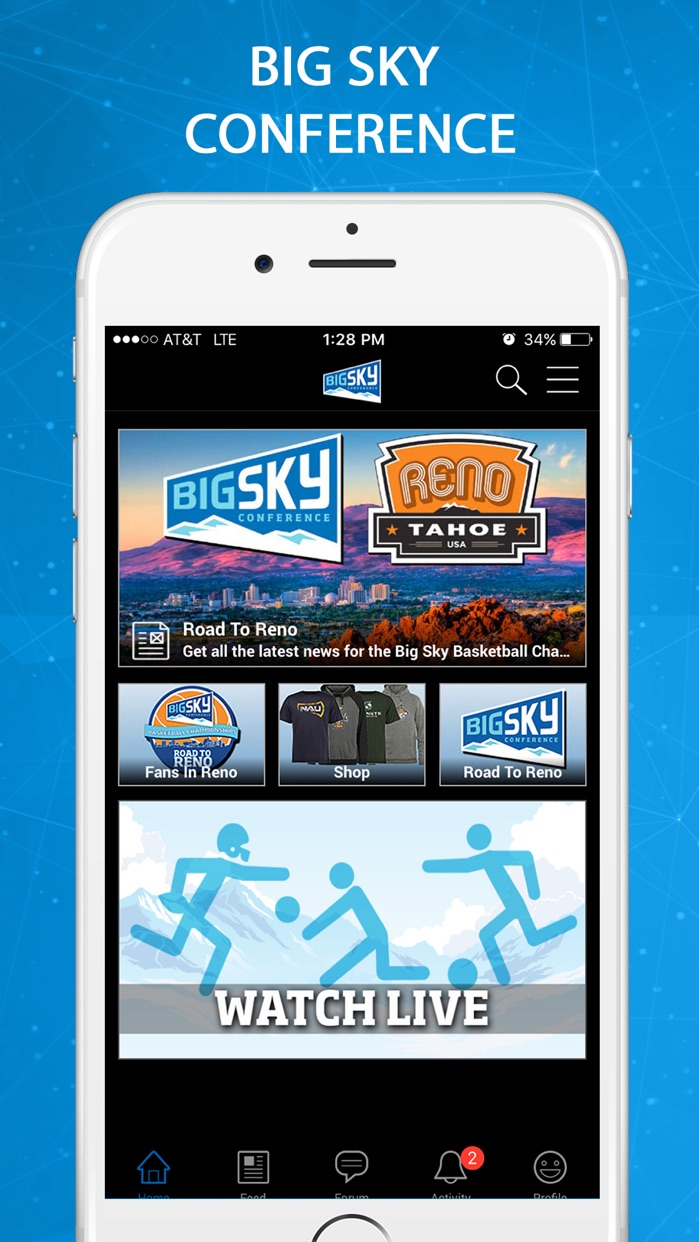 Big Sky Conference Screenshot