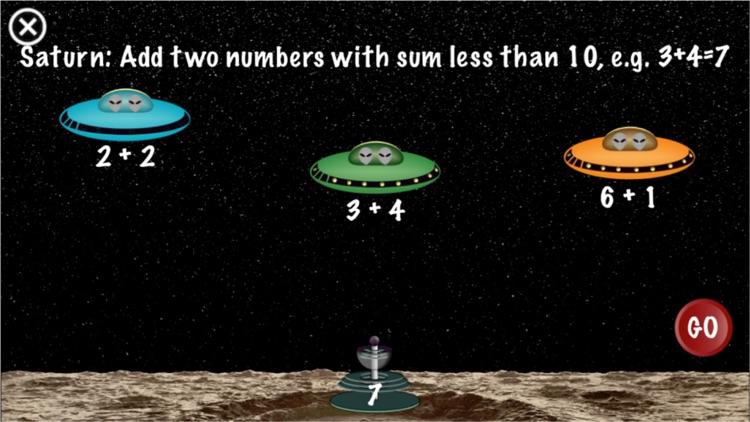 Arithmetic Invaders: Grade K Math Facts screenshot-3