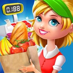Supermarket Grocery Girl - Shopping Fun Kids Games